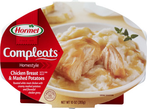 Hormel Compleats Chicken Breast & Mashed Potatoes