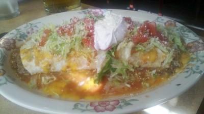 3 Margaritas Burrito
