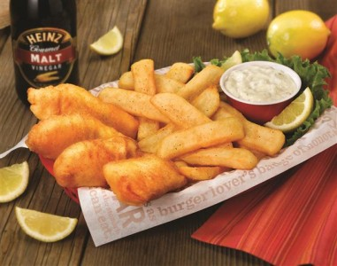 Red Robin Artic Cod Fish & Chips