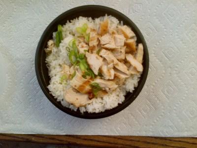 Tokyo Joe's Chicken Bowl