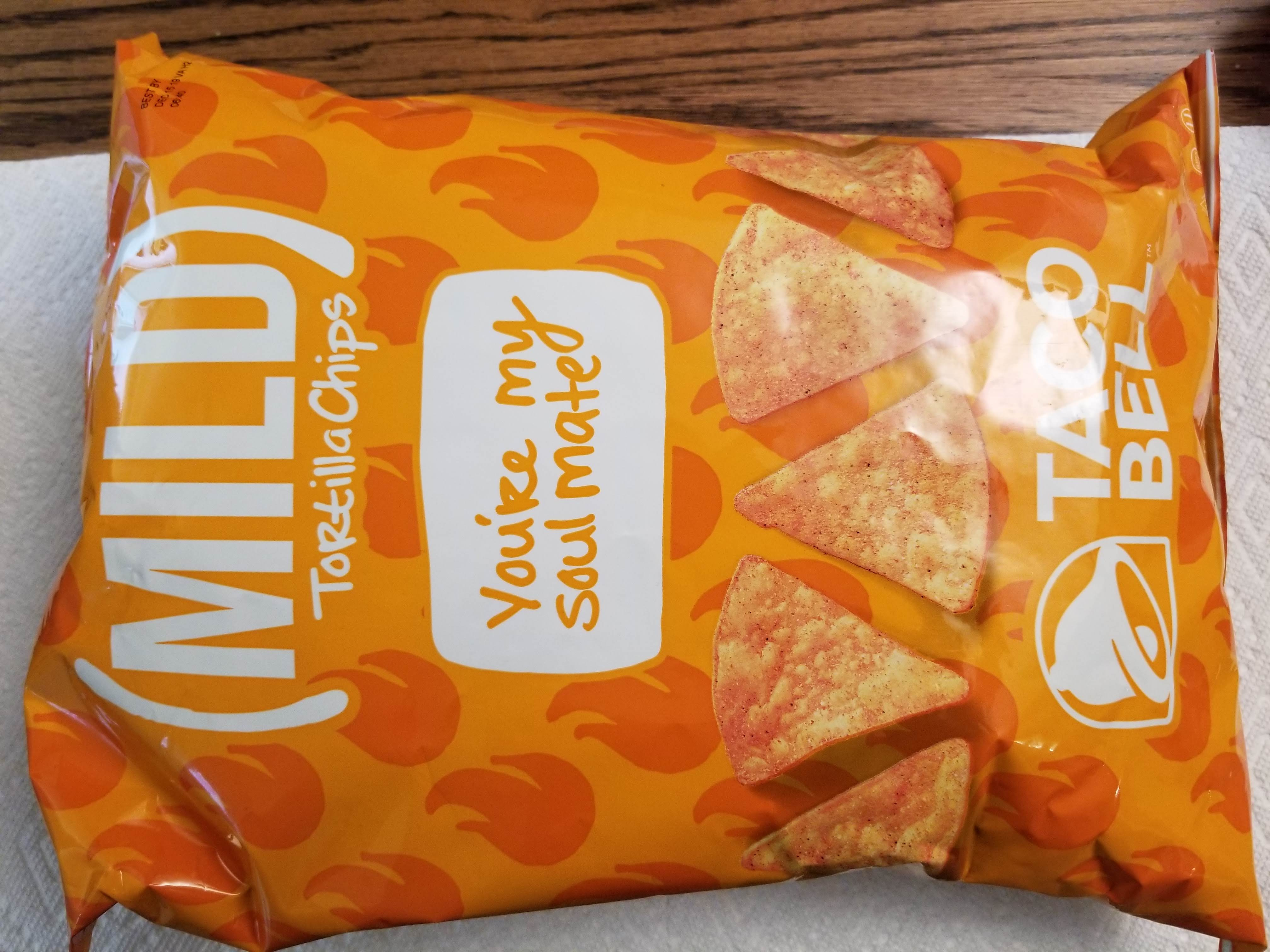 Food Review: Taco Bell (Mild) Tortilla Chips
