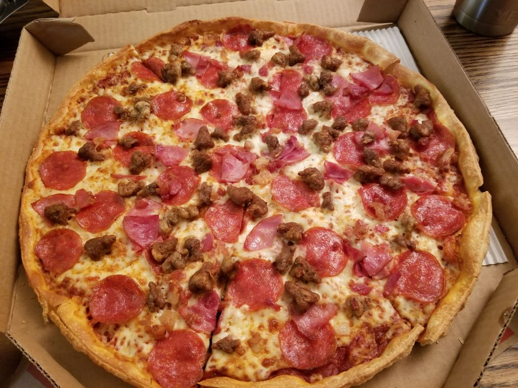 Large Meat Lovers Pizza Hut