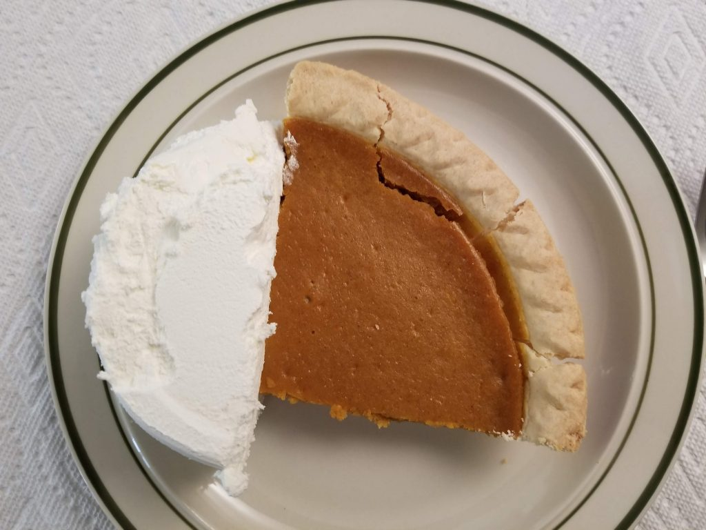 Pumpkin Pie - Cool Whip