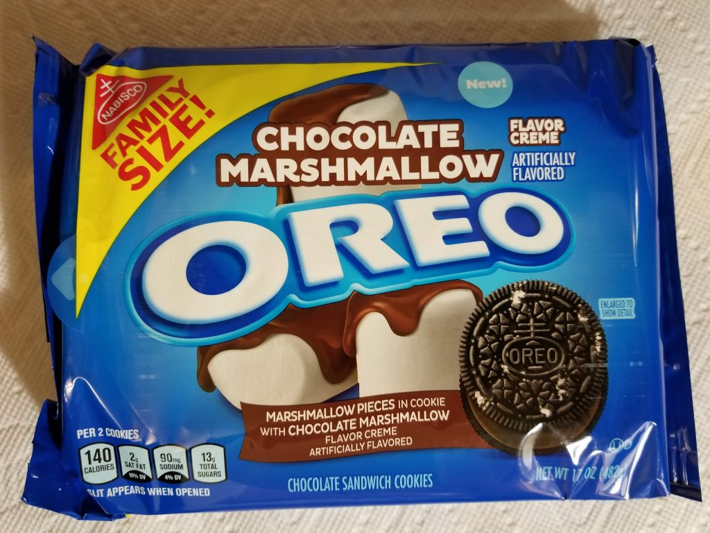 Chocolate Marshmallow Oreos